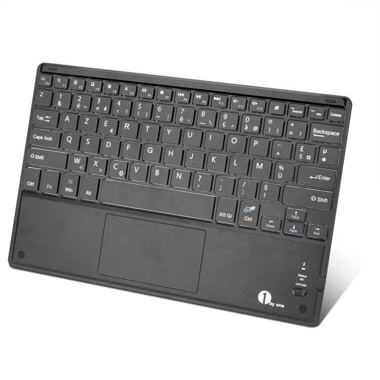 1Byone Clavier Bluetooth Azerty